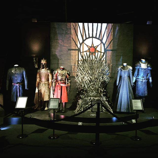 Doing the tourist thing today. The Game of Thrones exhibition, possibly the Titanic exhibition and riding a bus all around the city of Belfast later.