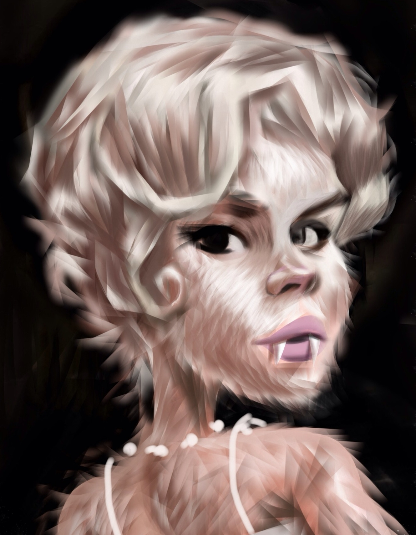"""""""Tuesday Wild Thing""""  Enjoying the glamour, fur and hair."""
