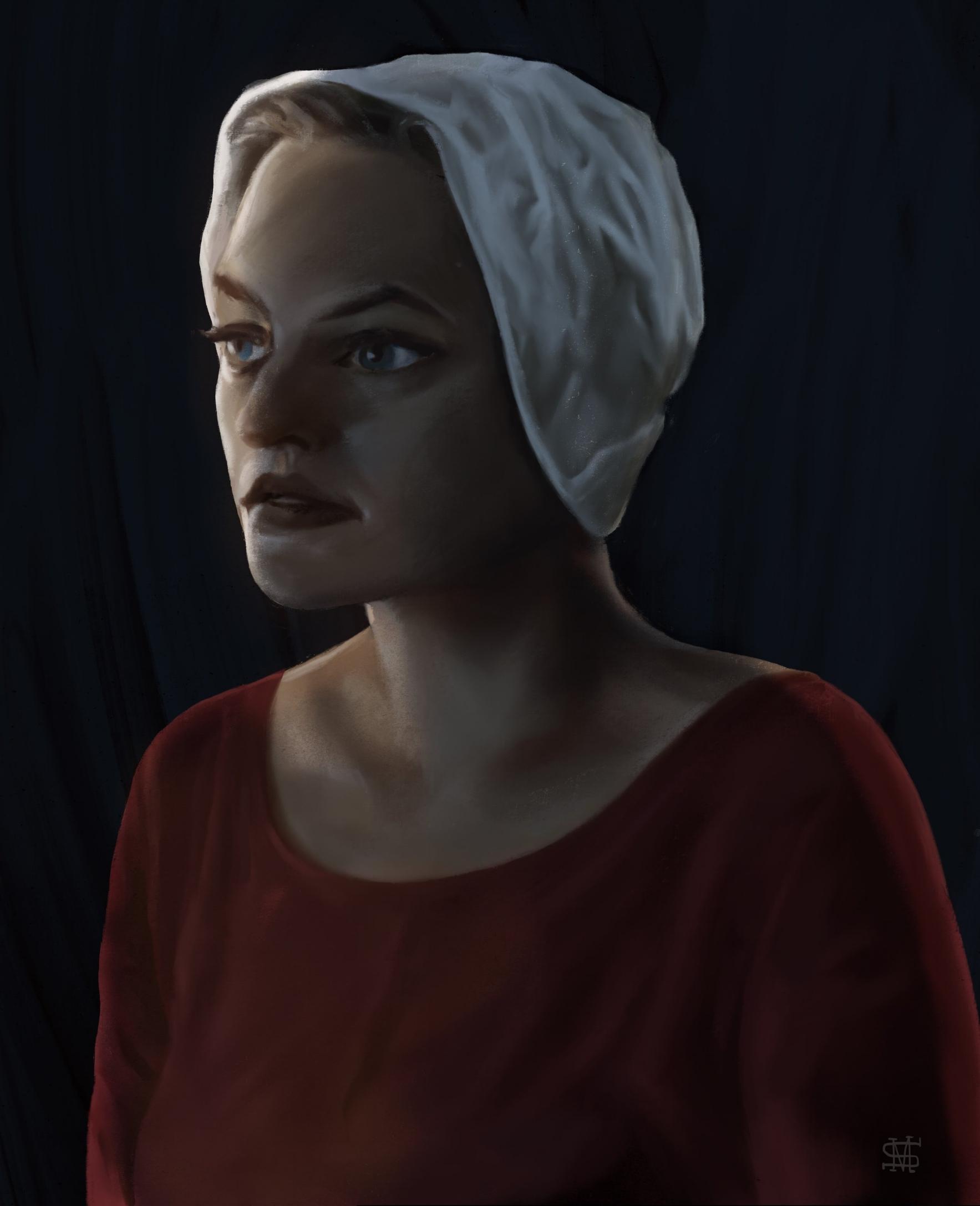 Elizabeth Moss as Offred
