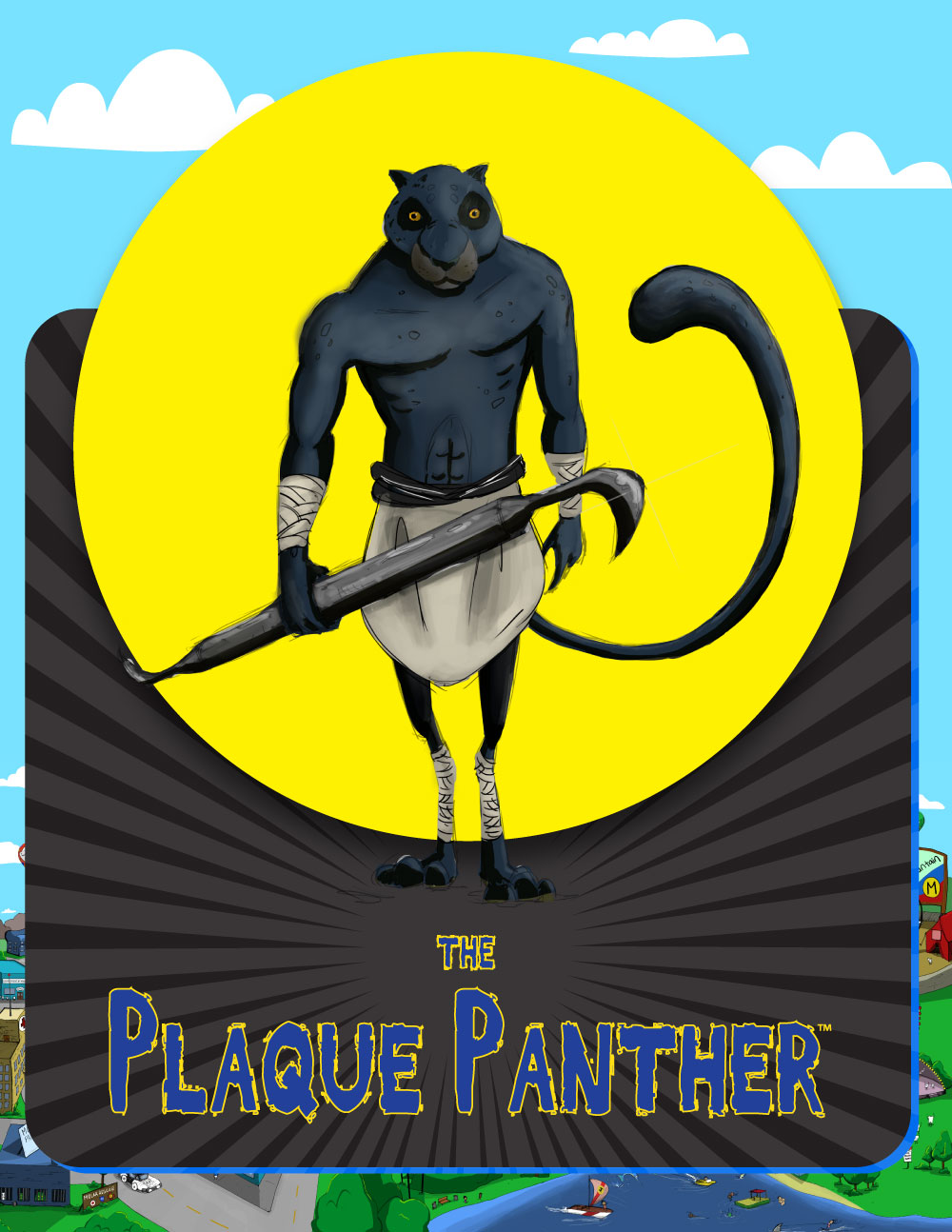 Black Panther - Plaque Panther