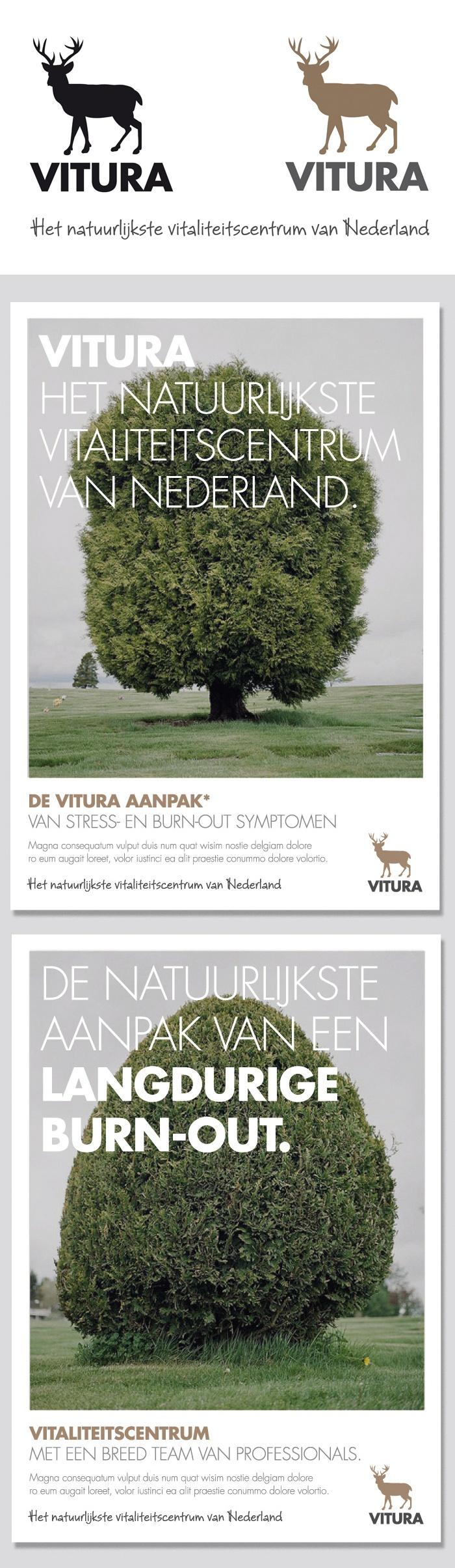 Brand design for Vitura (Vitality Center)