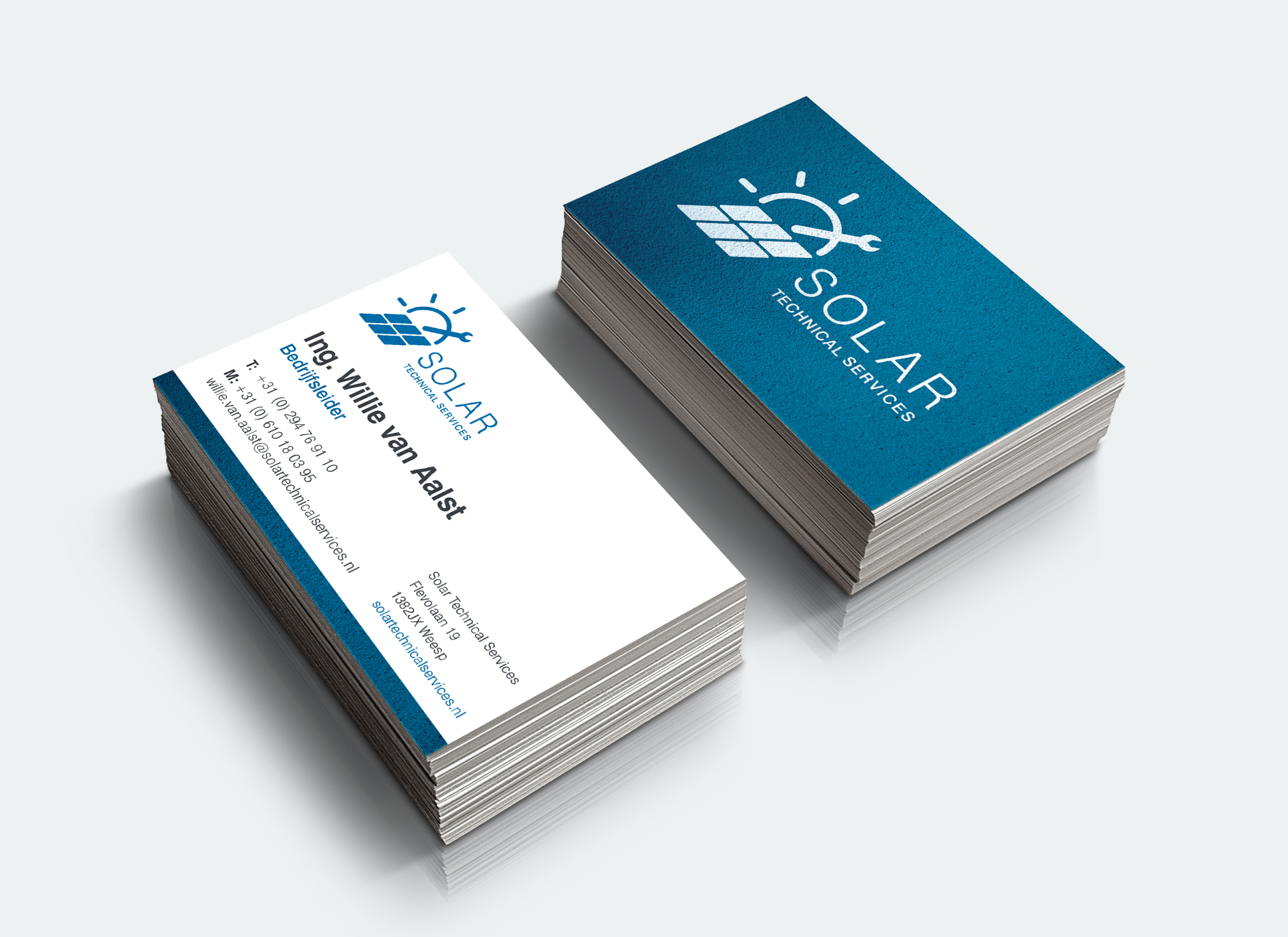 Brand identity design Solar Technical Services