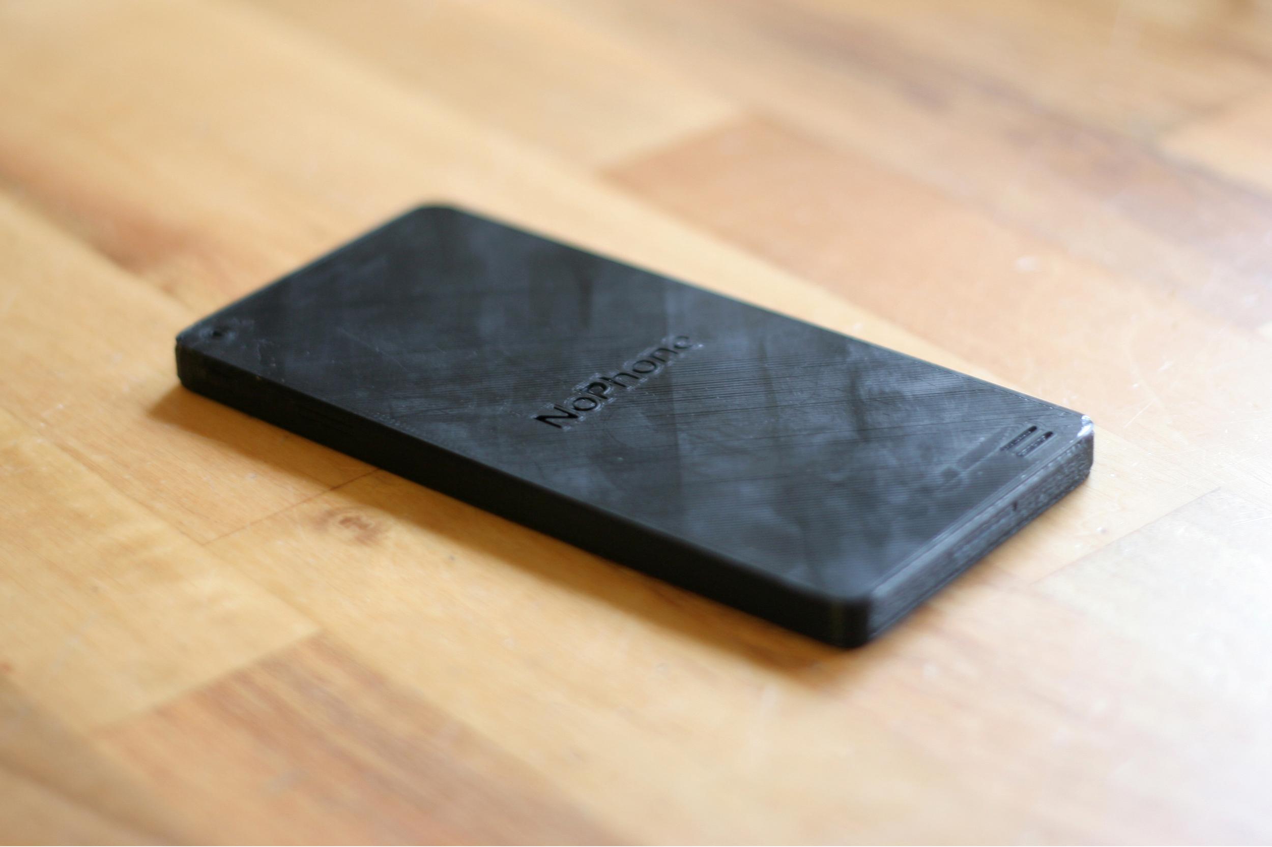 3D printed noPhone