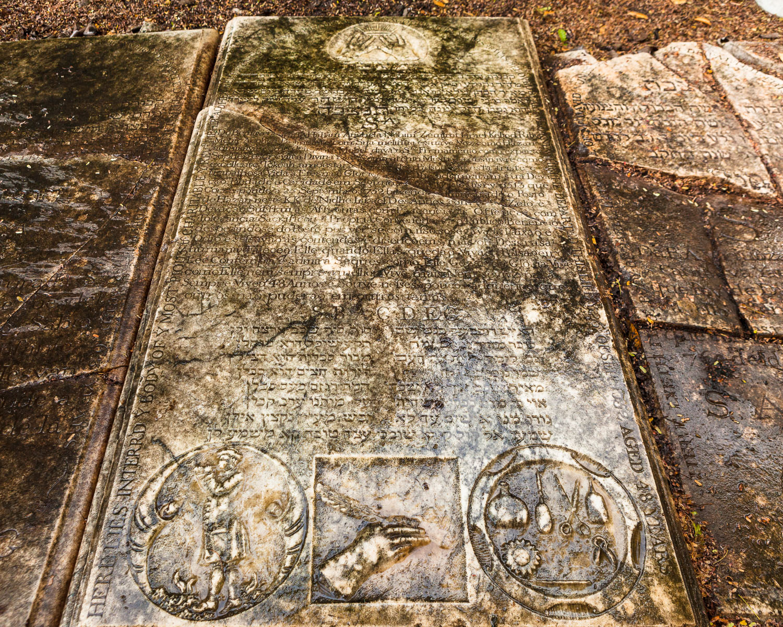 Grave Of Meir Cohen Belinfante