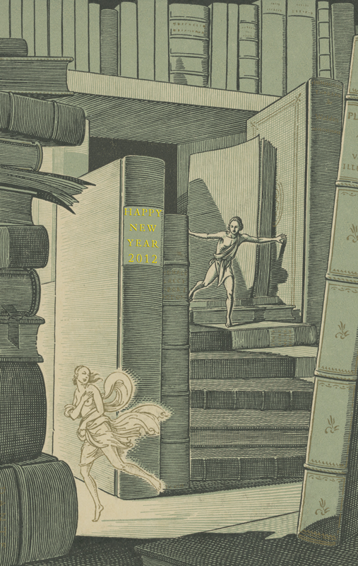 Image adapted from the cover of  The Colophon