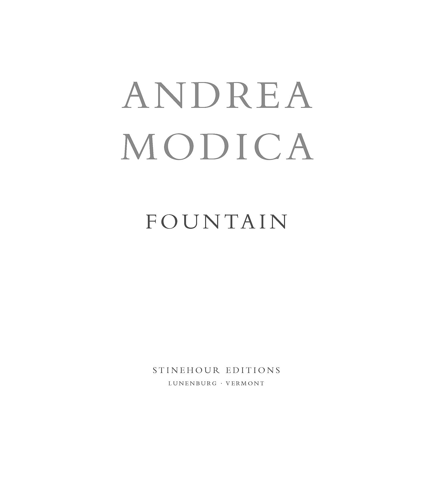 Andrea Modica