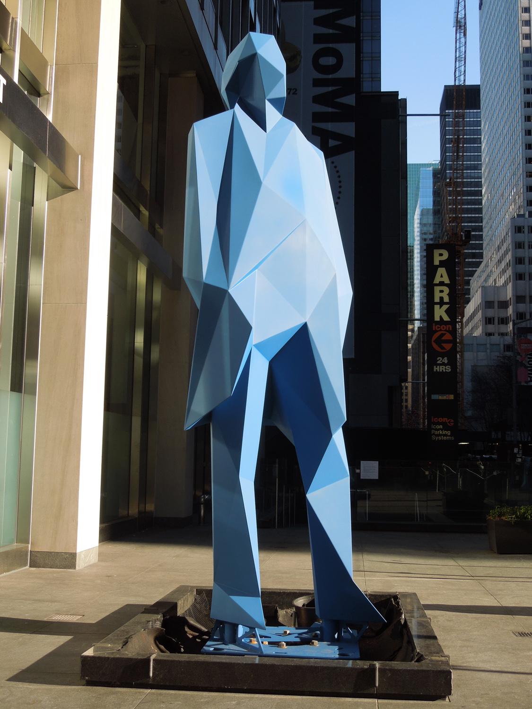 Blue Man, NYC