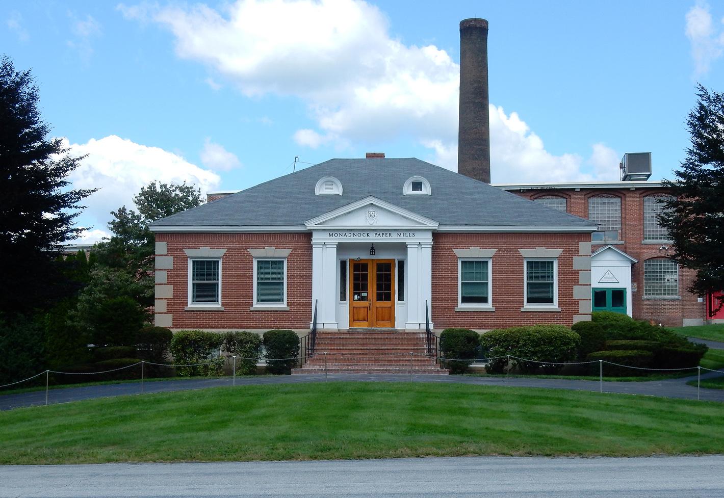 Monadnock Paper Mills. Bennington, New Hampshire