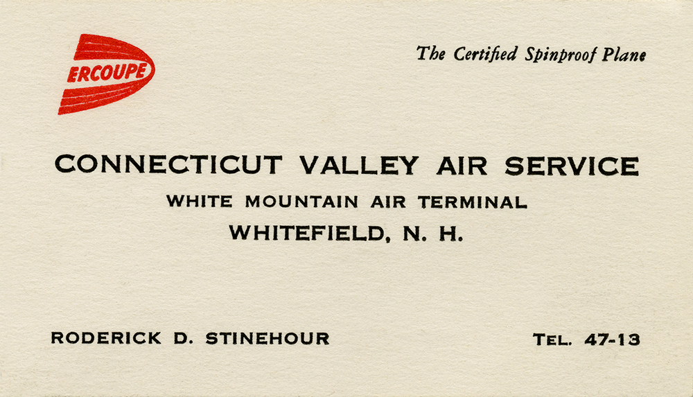 Connecticut Valley Air Service_Rocky Stinehour_Whitefield
