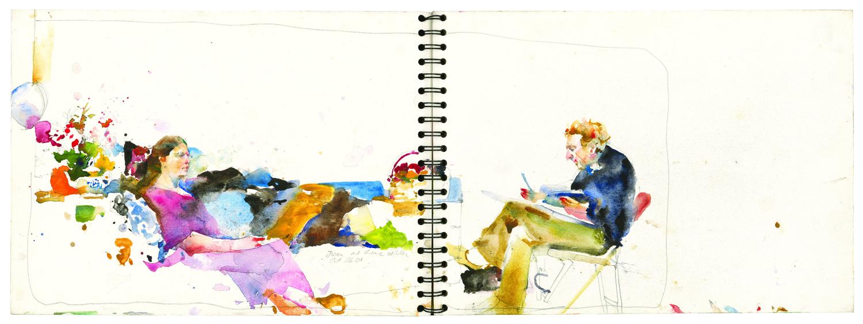 Gene Wilder Drawing