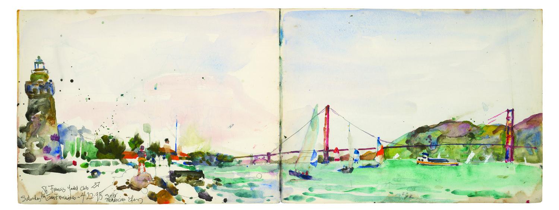Charles Reid Sketchbook_Golden Gate Bridge.jpg