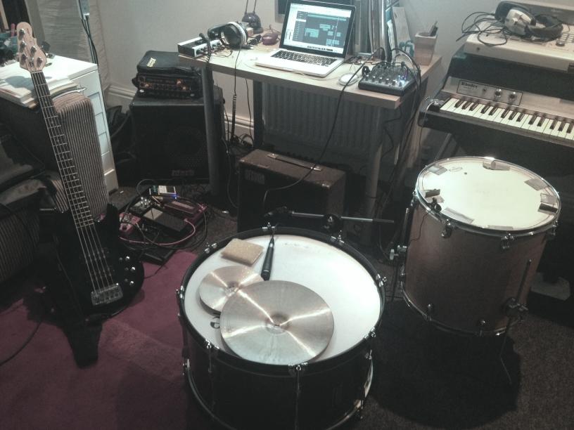 Mauricio's recording setup