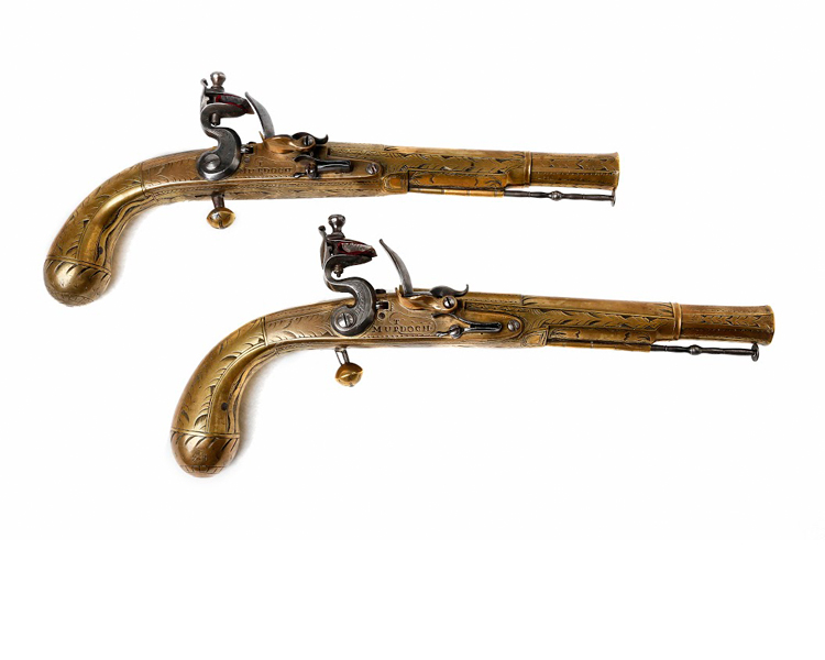 Pair-os-Scottish-Flintlock-Pistols-3rd-quarter-18th-century-friedland_arms_-pair_brass-pistols-Murdoch-Thomas.jpg