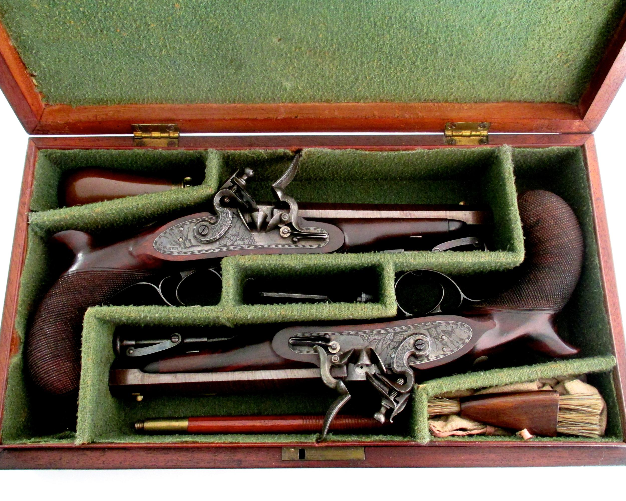 pair-flintlock-officers-pistols-Palmer-rochester-1820-gary-friedland-antique-arms-armor.jpg