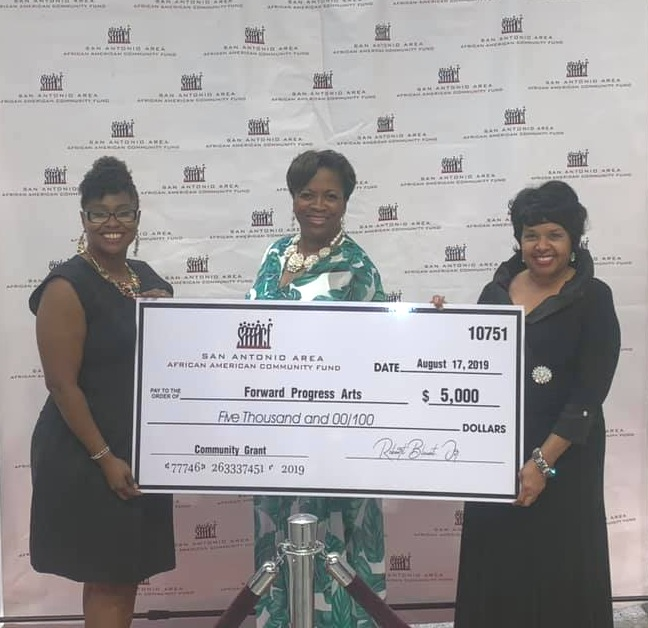 San Antonio Area African American Community Fund - Awarded August 17, 2019 at the Renaissance With The Stars Summer Breeze Gala