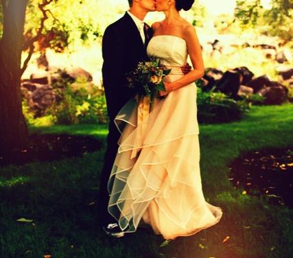custom made Bridal Dress by myriam marcela