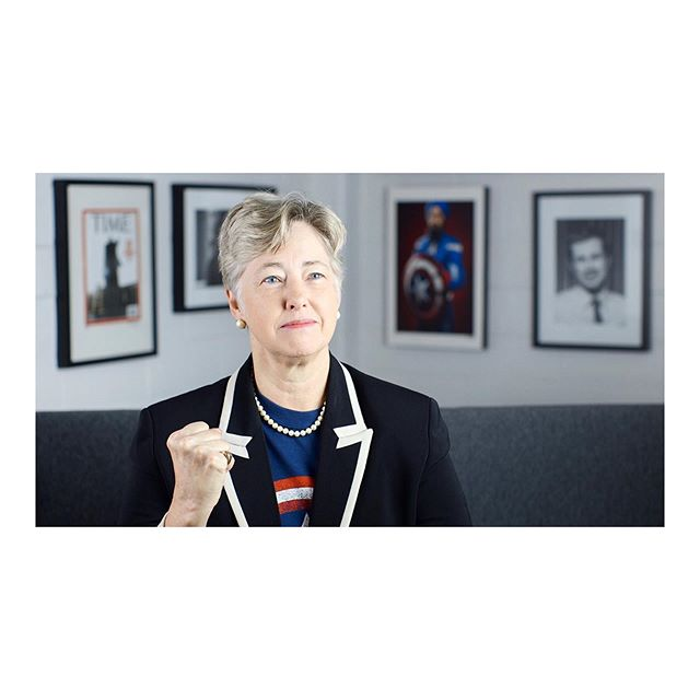 It was an honor and privilege to have former Houston Mayor and Victory Fund President & CEO Annise Parker in our Seattle studio to participate in The American Superhero: A Portrait & Storytelling Project this morning :)