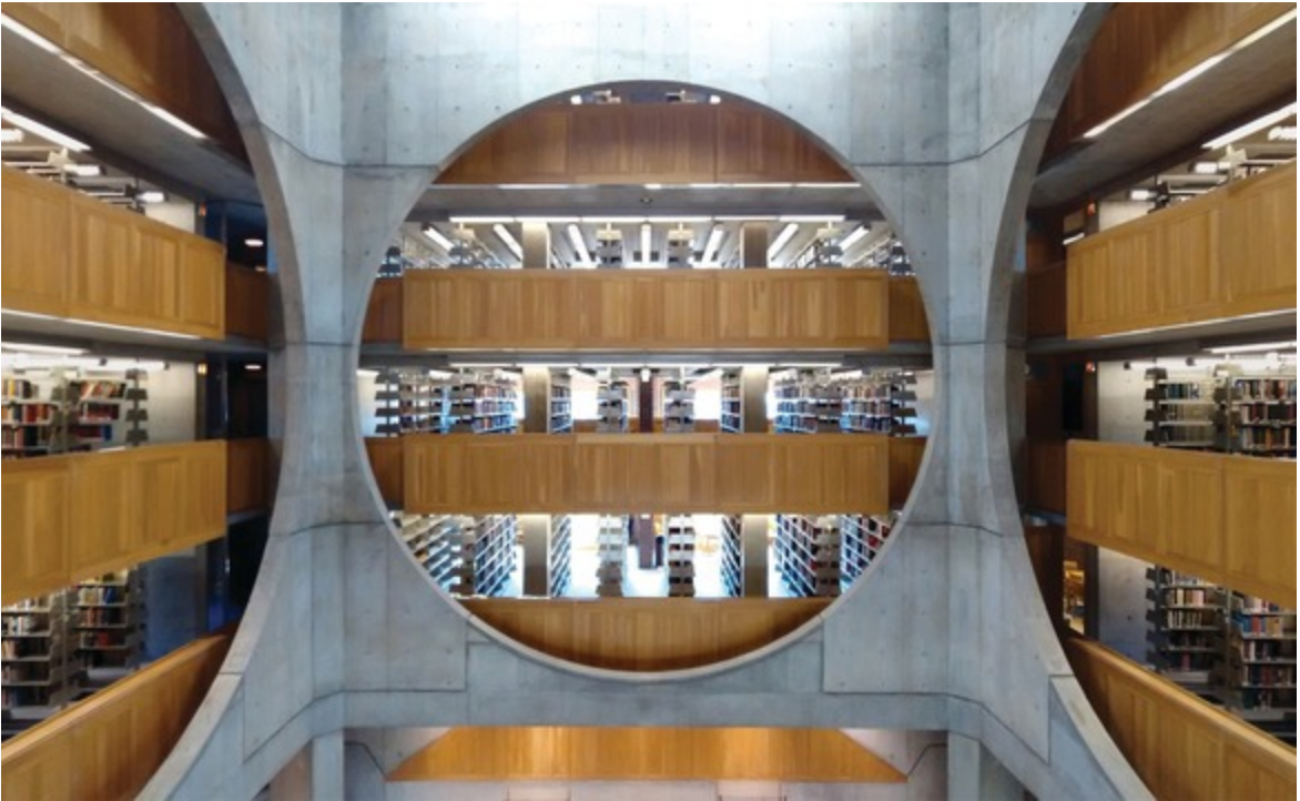 Louis Kahn's Phillips Exeter Academy Library, New Hampshire (Image: ©Gunnar Klack)