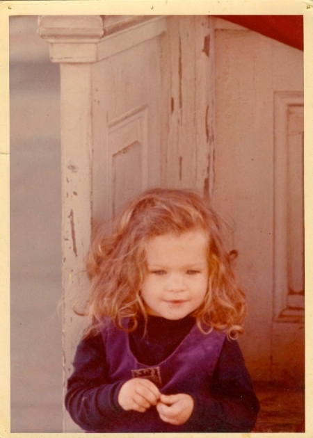 Me, circa 1970...wearing silk-velvet with a touch of William Spratling...