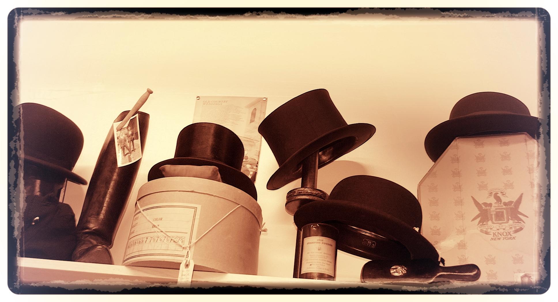 Men in hats...Imagine that !