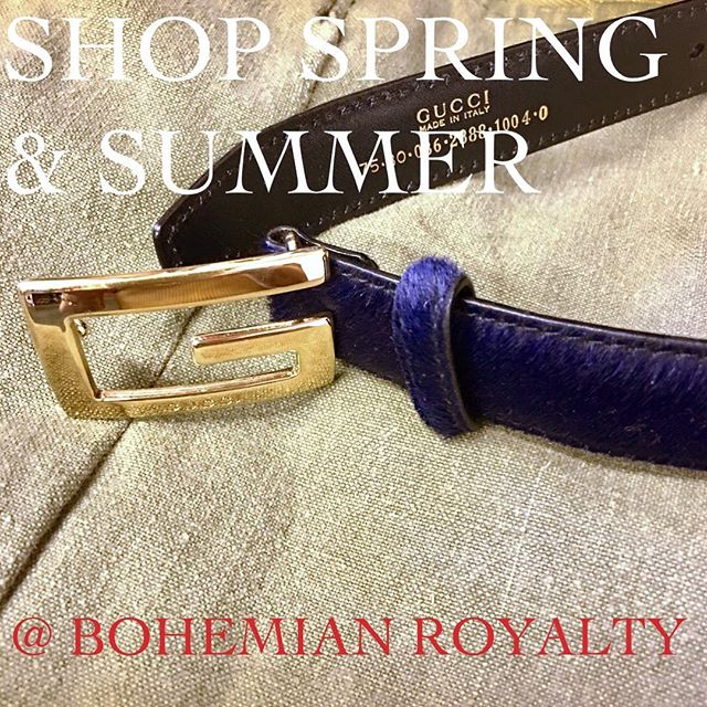 It's #SPRING2019 Like what you see???Visit #Yonkers experience #PrivateShopping @ #BohemianRoyalty book your appointment today !!! #shopvintage and be an #ethicalconsumer ; #mindfullness is in #Fashion ; Buy #secondhand #shopLocal  #vintagemenswear #vintagewomenswear  #vintagegucci #Gucci #vintageChanel #Chanel #vintageLuxury #VintageMenswear #VintageWomensclothing