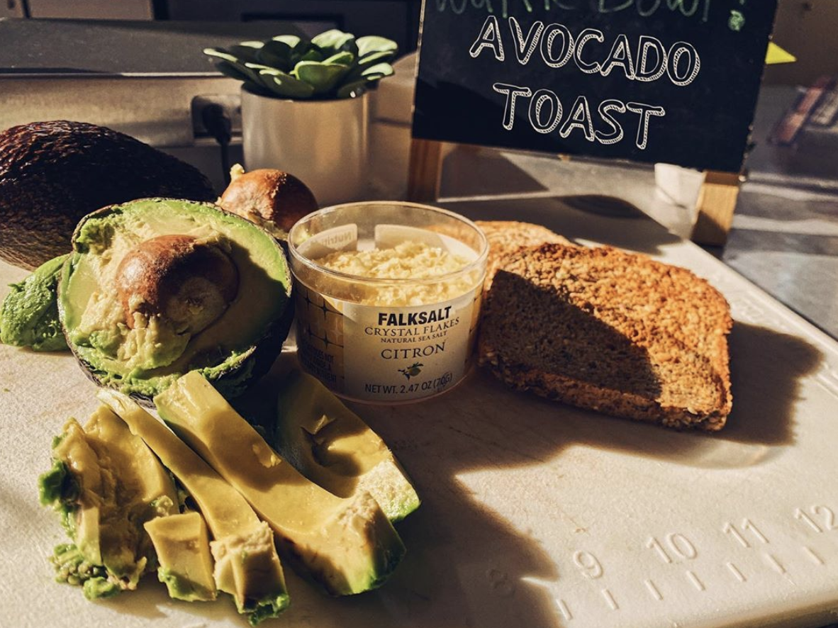 If you're hungry for a good-for-you lunch we can make you the best Avocado Toast in town.