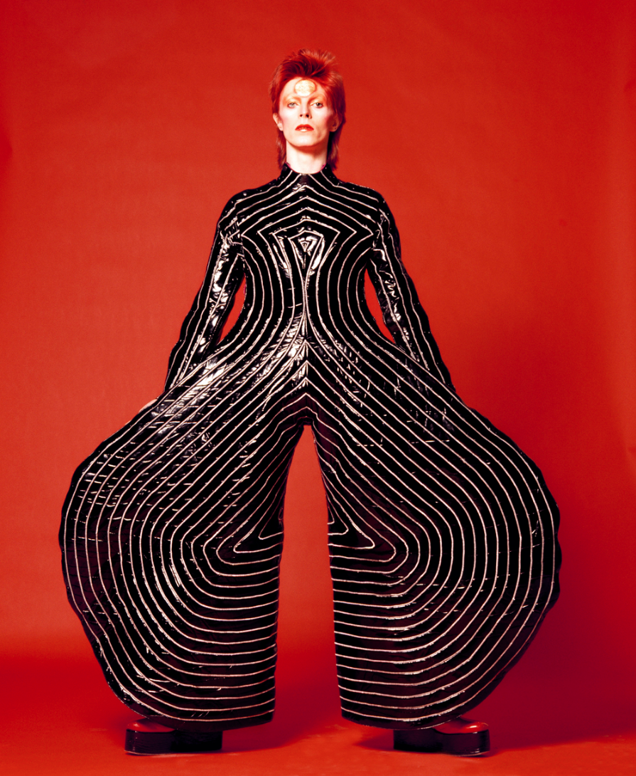 David Bowie inspired by Oskar Schlemmer