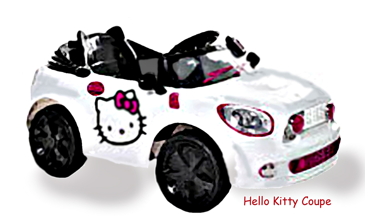 Hello Kitty White Coupe 6Volt- Toys R Us   Check out ej's room click here