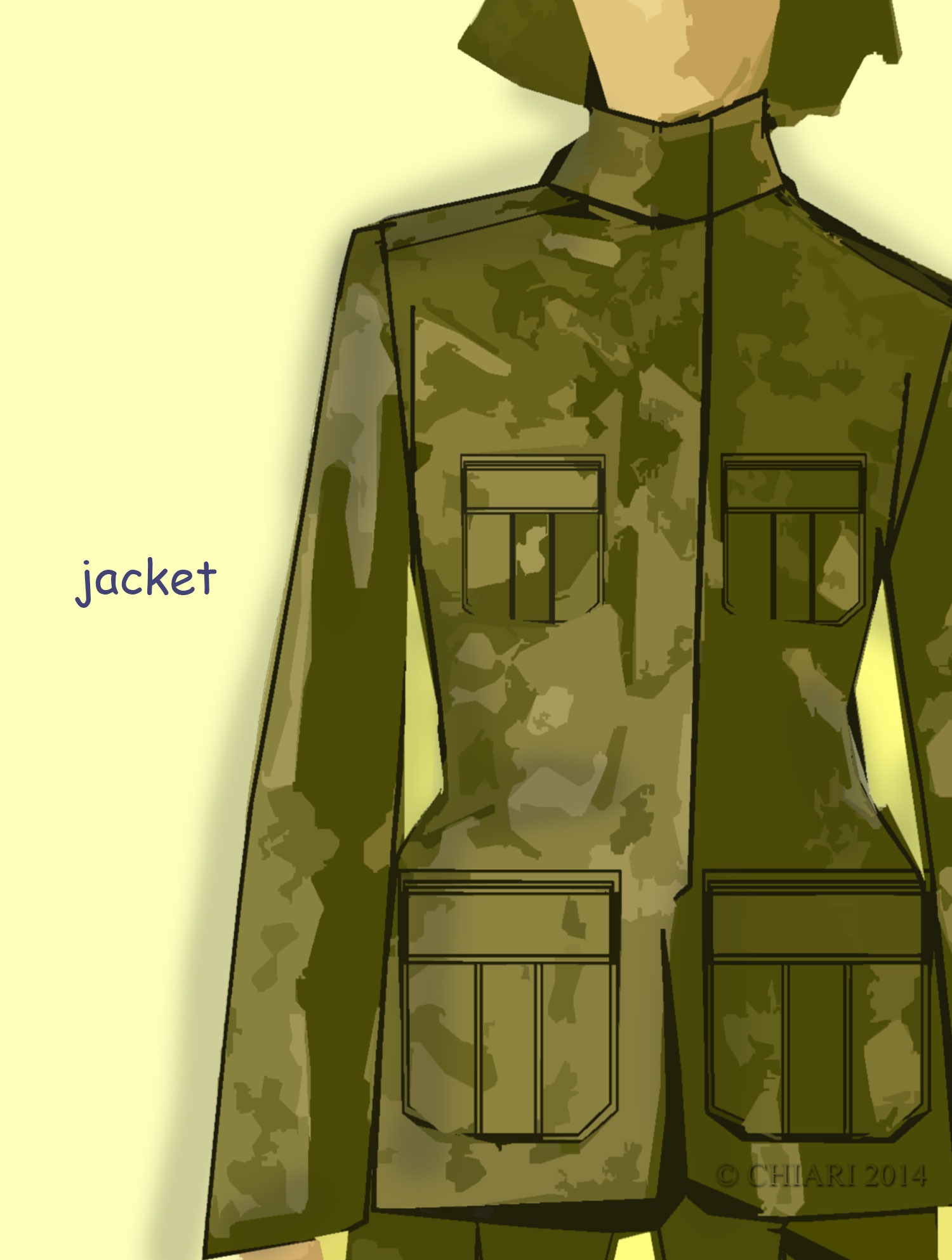 Camouflage Jacket Design Concepts:Trend
