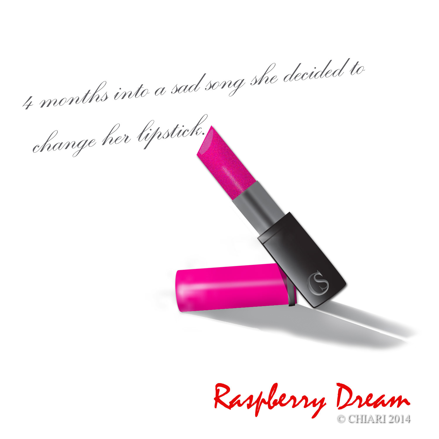 Raspberry Dream color can start a conversation. CHIARIstyle 14