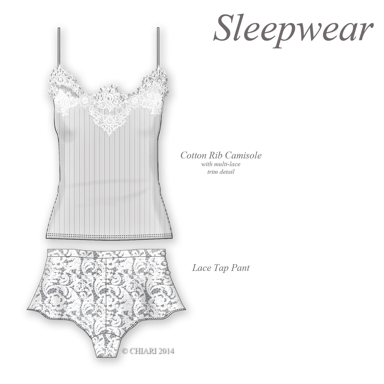 Sleepwear in the lounge. CHIARIstyle 14