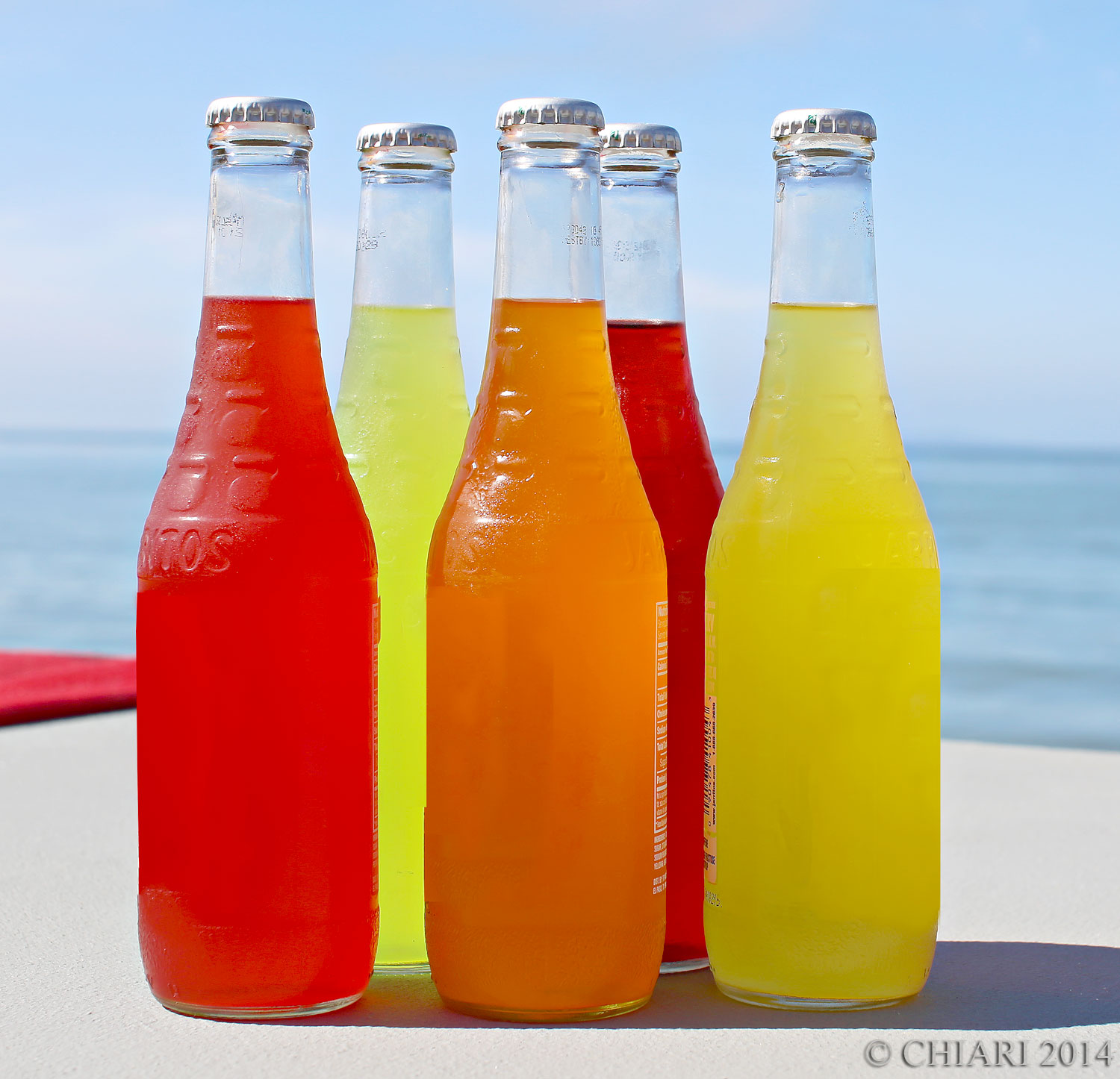 Jarritos natural flavors are the colors for CHIARIstyle 14