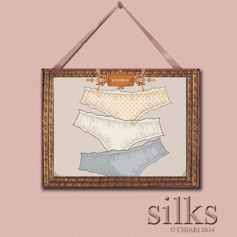 Silk Knickers CHIARIstyle