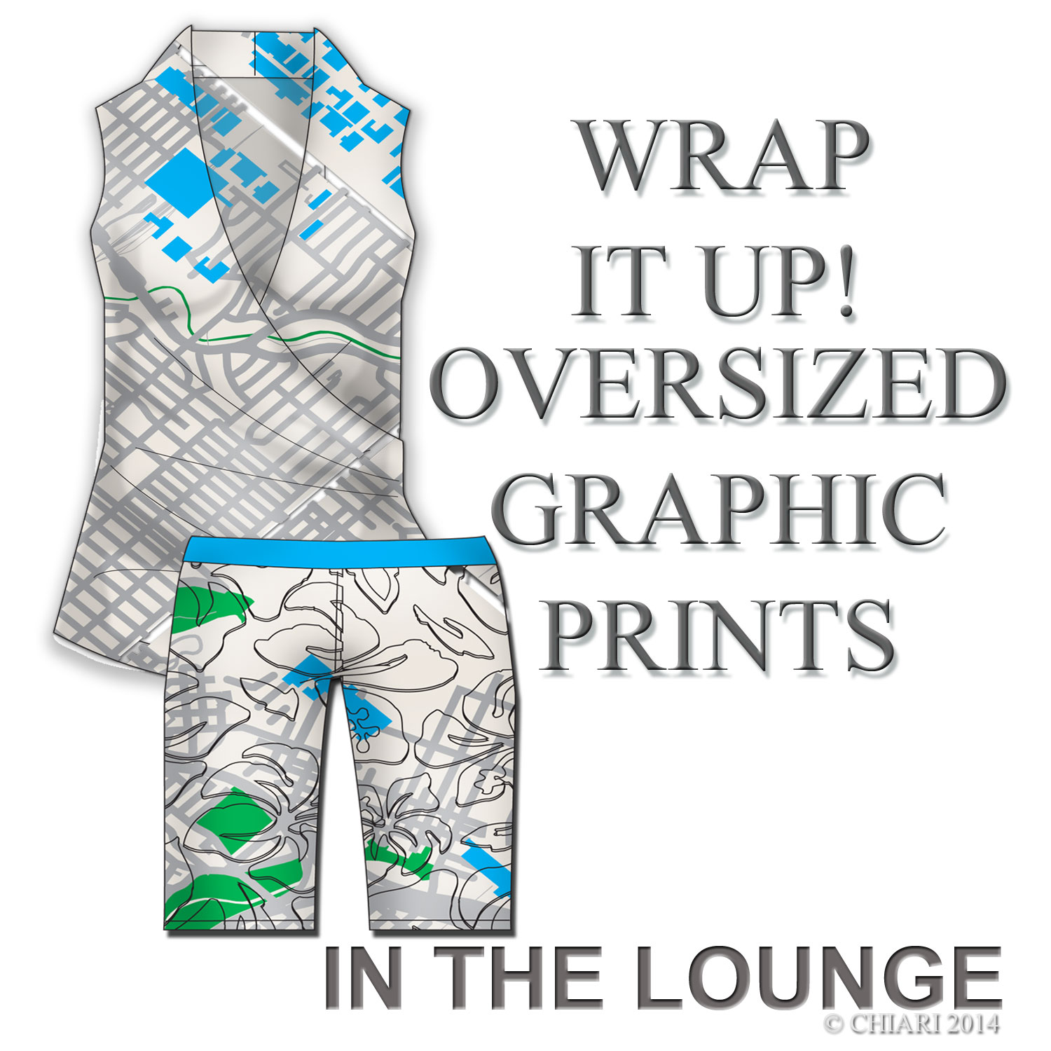 Map it out in the lounge CHIARIstyle