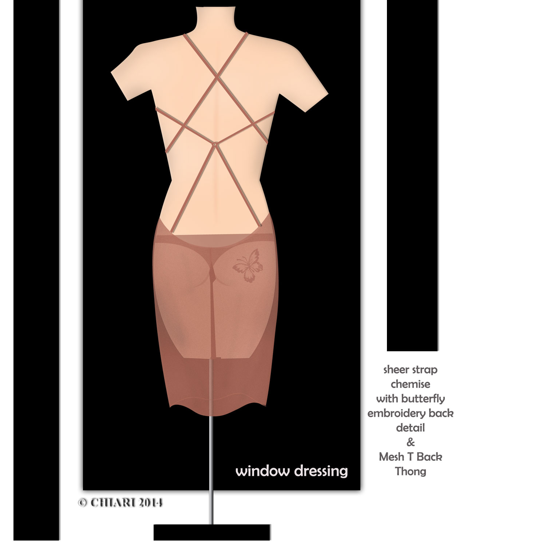 Window Dressing Intimates CHIARIstyle