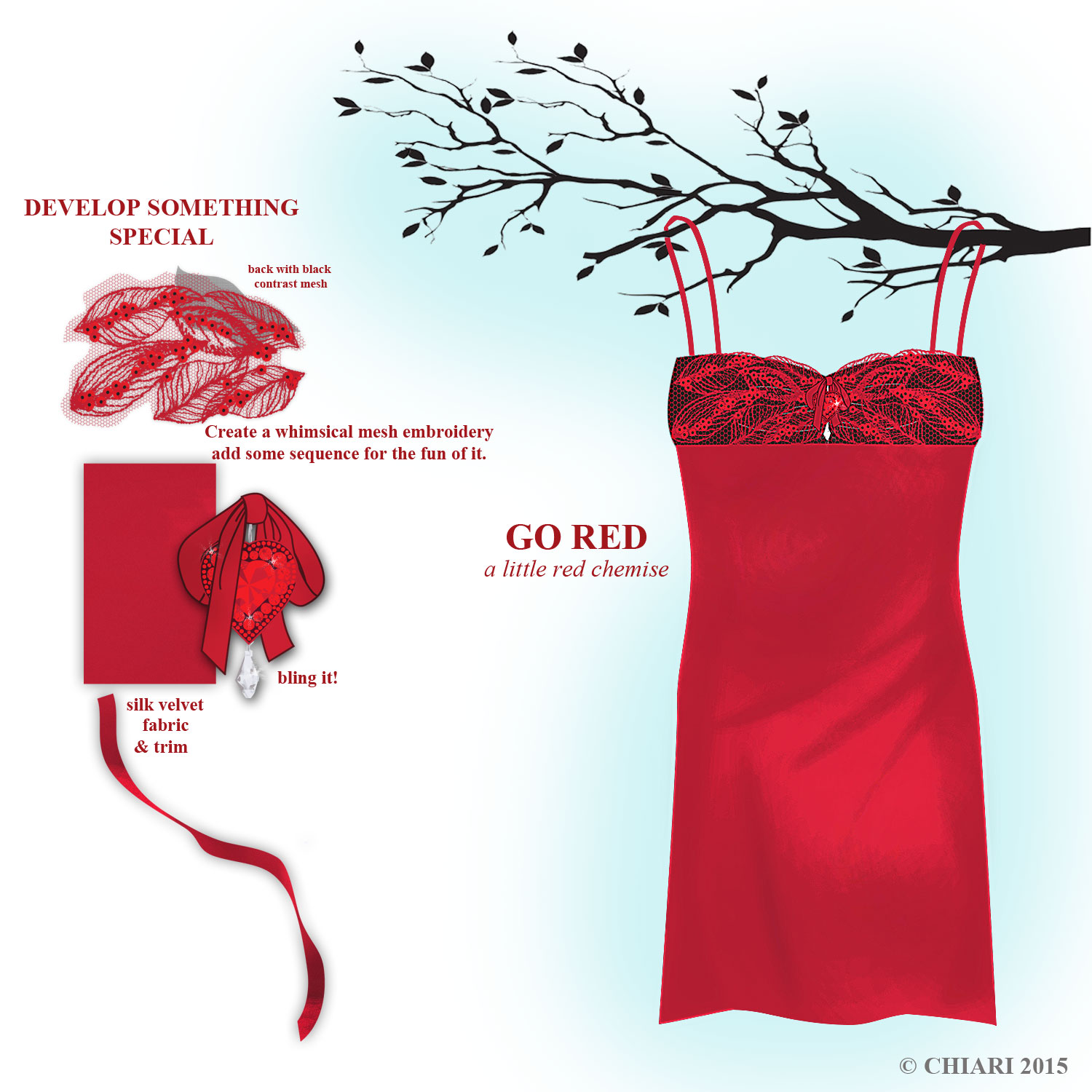 The Chemise goes red CHIARistyle 15