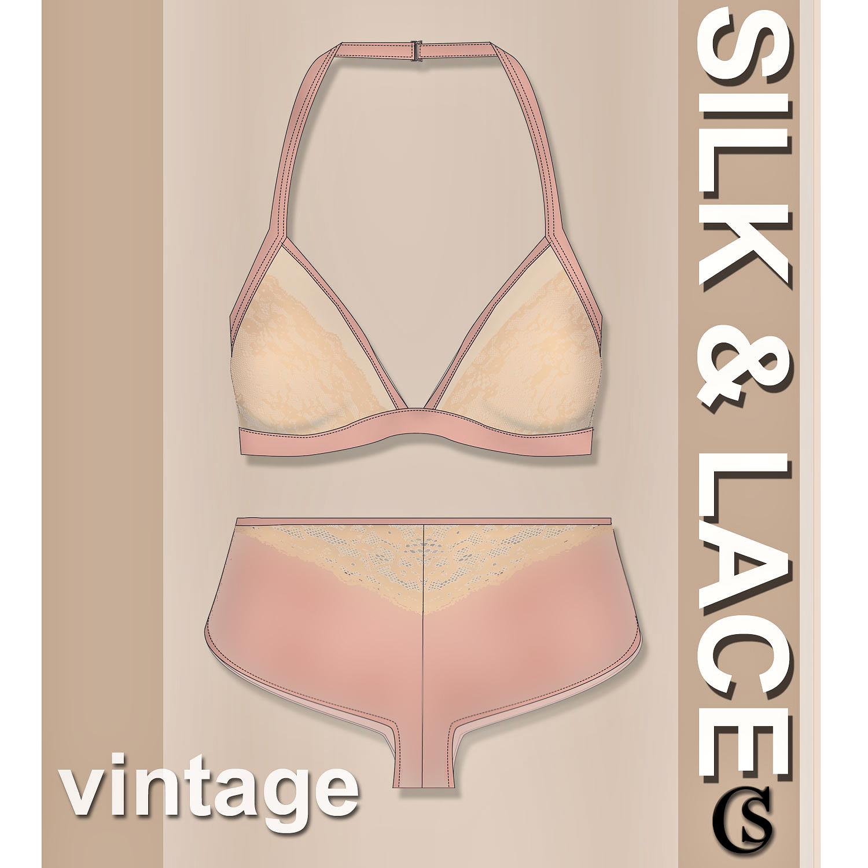 Vintage Silk & Lace CHIARIstyle