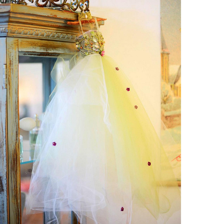Mermaid inspired fairytale dress. Bon Fortune CHIARIstyle