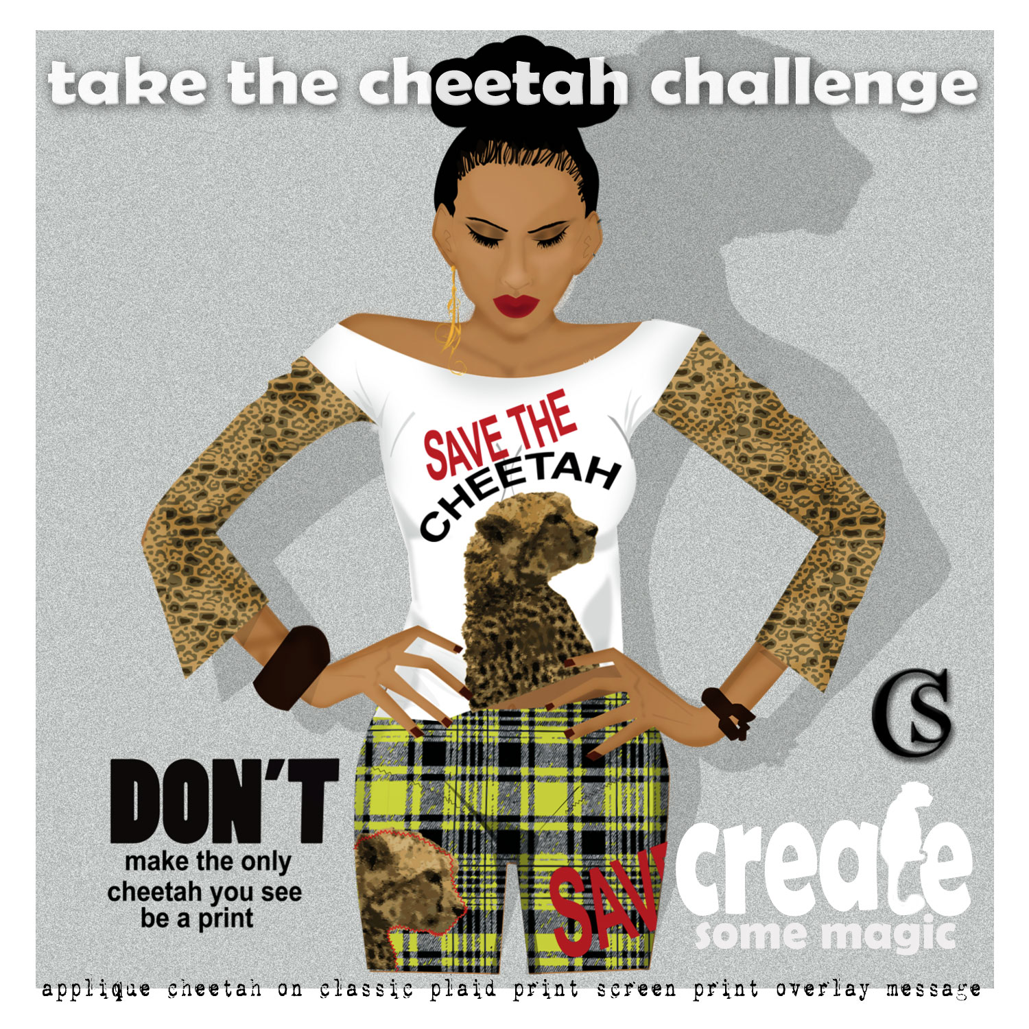 Save the Cheetah CHIARIstyle