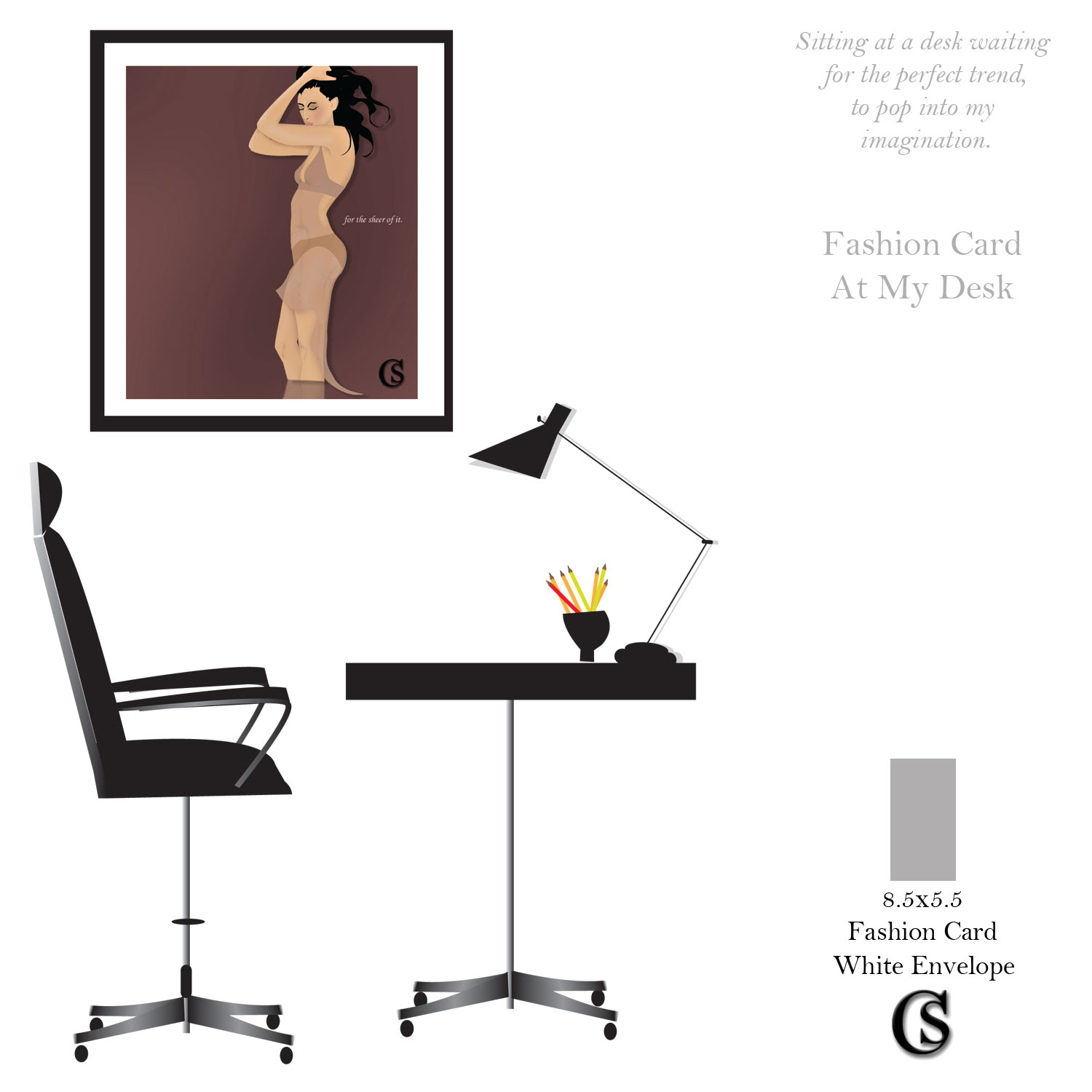 Just Fashion Greeting Cards