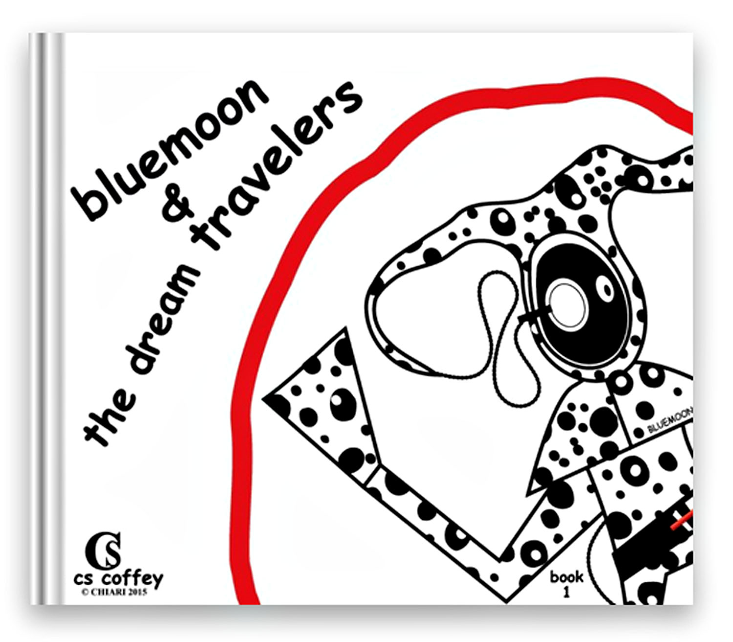 bluemoon & the dream travelers 10x8 softcover book