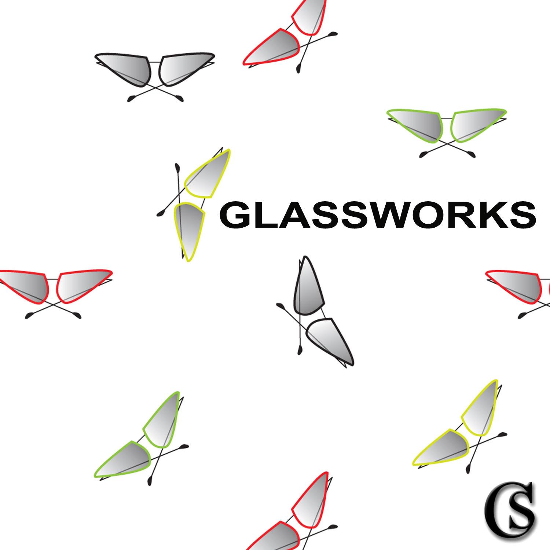 Eyeglass print design