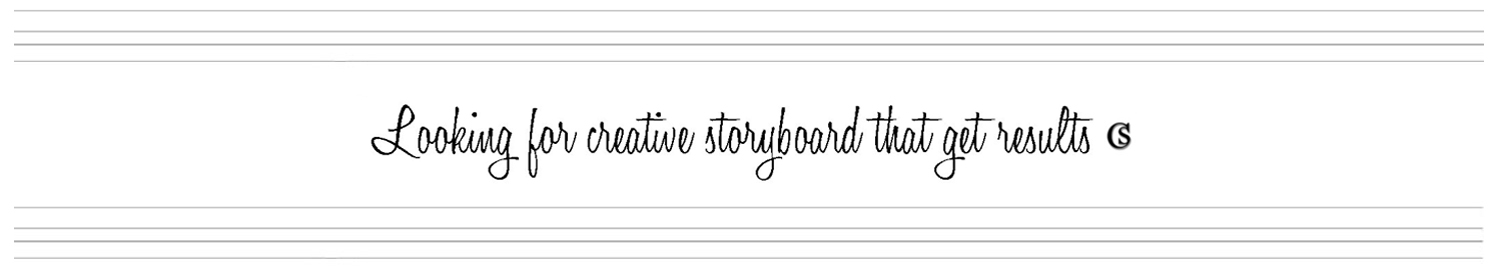 Creative Storyboards CHIARIstyle