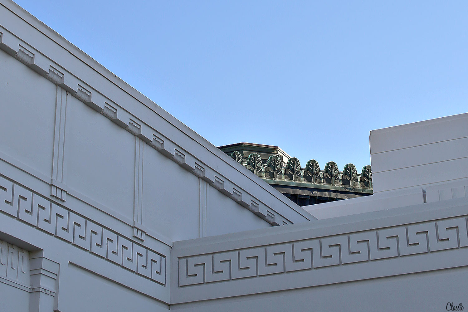 Griffith Observatory close up