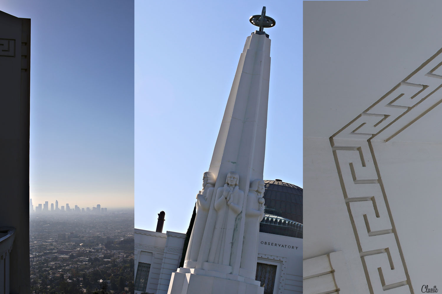 Griffith Observatory and the city CHIARIstyle