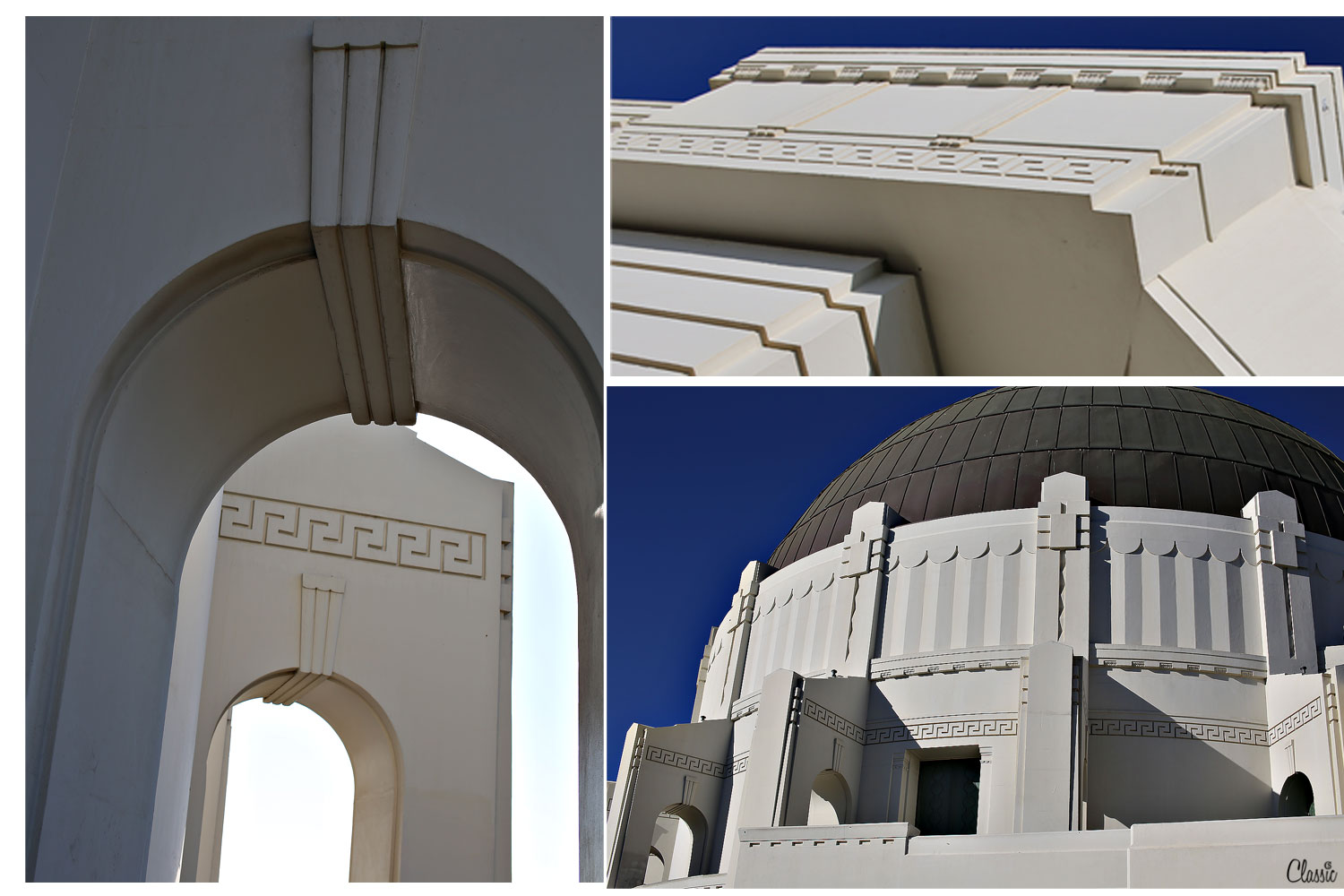 The lines of Griffith Observatory CHIARIstyle