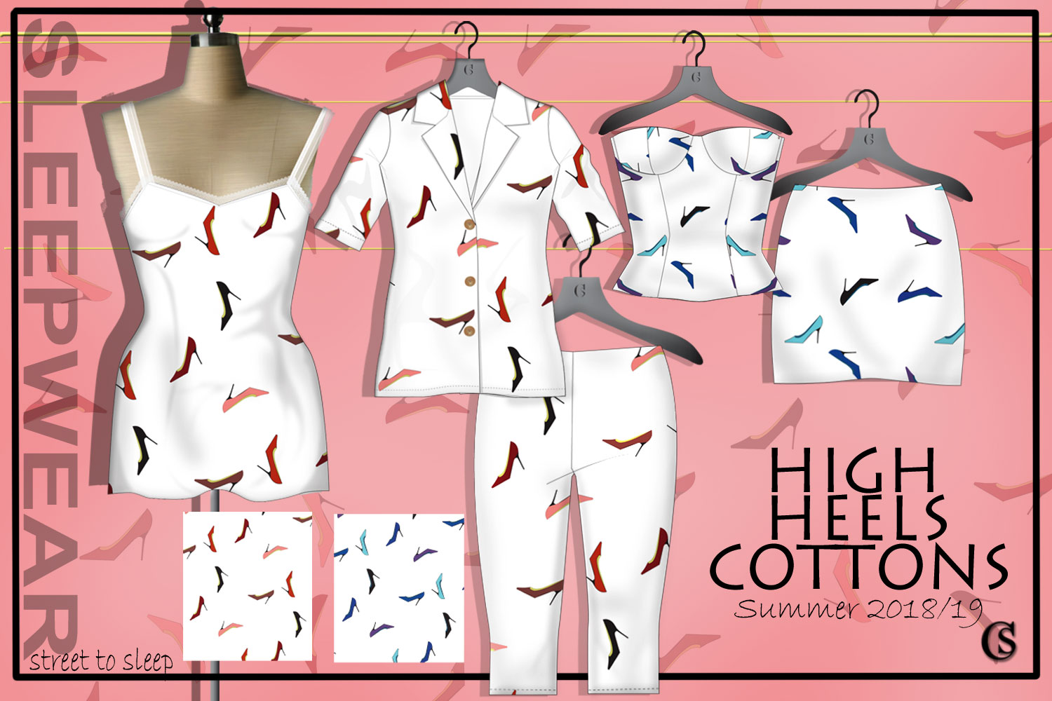 Cotton jersey trend storyboard for 2018/19 CHIARIstyle