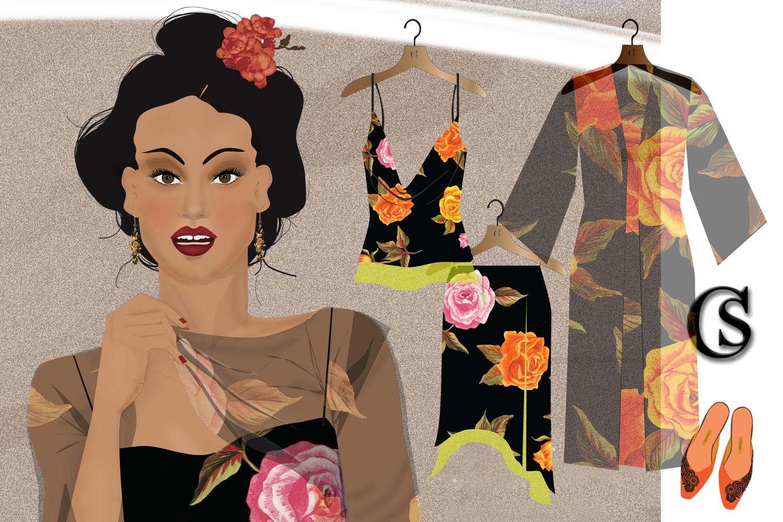 the kimono is in the garden CHIARIstyle
