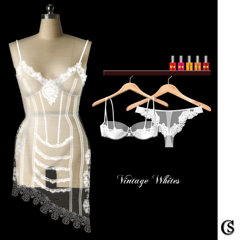 Vintage Whites: Lingerie Design CHIARIstyle