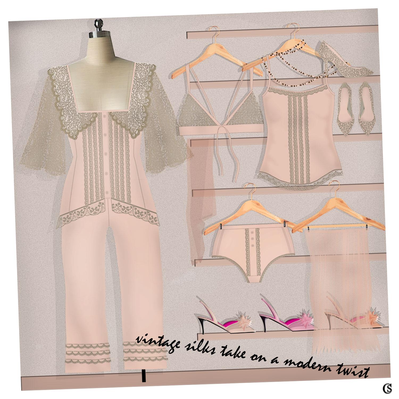 Vintage goes modern with sleepwear trends CHIARIstyle